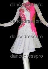 画像3: 社交ダンス ラテンドレス(ペア)2894タイプ Mサイズ (3)