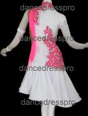 画像4: 社交ダンス ラテンドレス(ペア)2894タイプ Mサイズ (4)