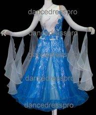 画像2: 社交ダンス モダンドレス2245タイプ (2)