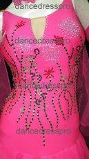 画像4: 社交ダンス モダンドレス2472タイプ  Mサイズ (4)