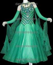 画像2: モダンドレスMサイズ、ドレス丈約130cm (2)