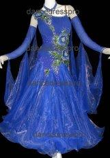 画像1: モダンドレスMサイズ ドレス丈約130cm (1)