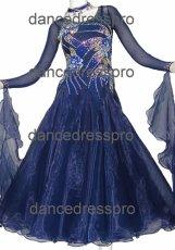 画像1: モダンドレスMサイズ ドレス丈約122cm (1)
