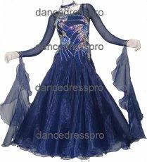 画像2: モダンドレスMサイズ ドレス丈約122cm (2)