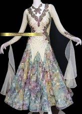 画像2: モダンドレスMサイズ ドレス丈約124cm (2)