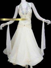 画像2: モダンドレスMサイズ ドレス丈約127cm (2)