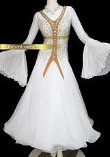 画像1: モダンドレスLサイズ ドレス丈約130cm (1)