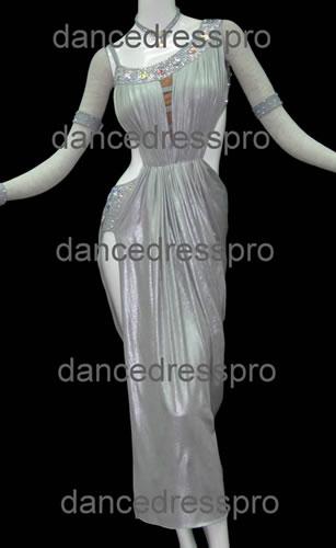 画像1: 社交ダンス ラテンドレス2392タイプ (1)