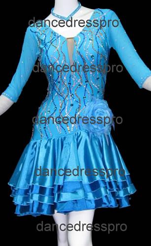 画像1: 社交ダンス ラテンドレス2436タイプ (1)