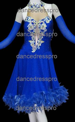 画像1: 社交ダンス ラテンドレス2437タイプ (1)