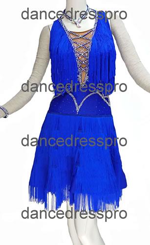 画像1: 社交ダンス ラテンドレス2986タイプ (1)