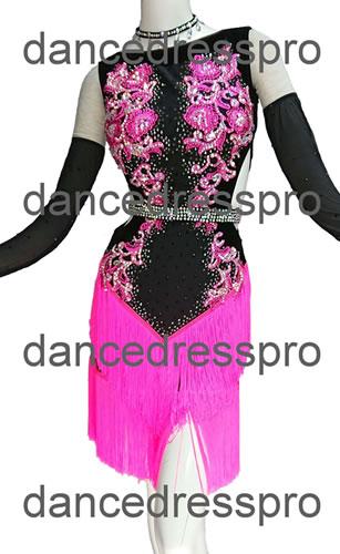 画像1: 社交ダンス ラテンドレス2989タイプ (1)