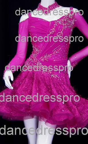 画像1: 社交ダンス ラテンドレス1556タイプ (1)