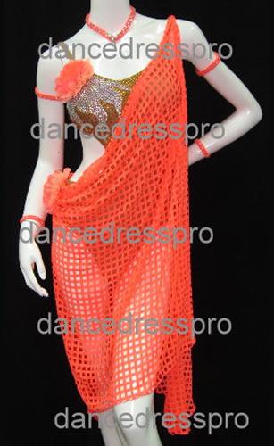 画像1: 社交ダンス ラテンドレス1955タイプ (1)