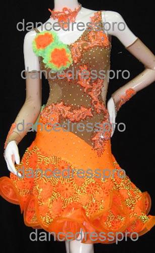 画像1: 社交ダンス ラテンドレス1956タイプ (1)