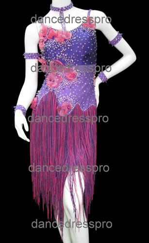 画像1: 社交ダンス ラテンドレス1978タイプ (1)