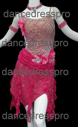 画像1: 社交ダンス ラテンドレス2148タイプ (1)