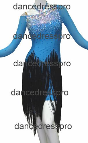 画像1: 社交ダンス ラテンドレス2694タイプ (1)