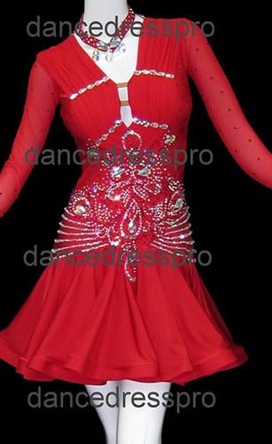 画像1: 社交ダンス ラテンドレス2776タイプ (1)