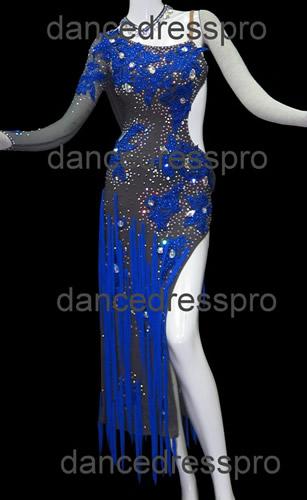 画像1: 社交ダンス ラテンドレス2786タイプ (1)