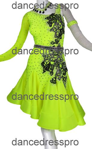 画像1: 社交ダンス ラテンドレス2956タイプ (1)