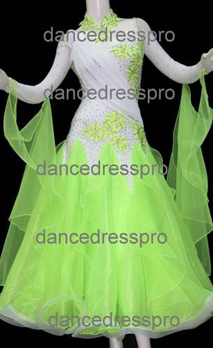 画像1: 社交ダンス モダンドレス2032タイプ (1)
