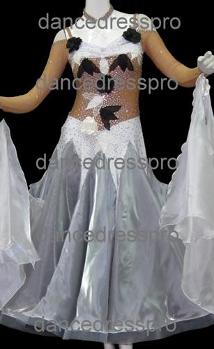 画像1: 社交ダンス モダンドレス2044タイプ (1)