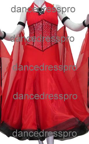 画像1: 社交ダンス モダンドレス2051タイプ (1)
