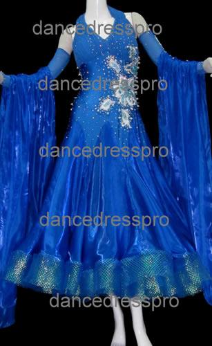 画像1: 社交ダンス モダンドレス2171タイプ (1)