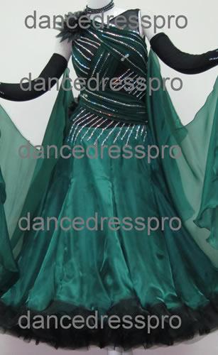 画像1: 社交ダンス モダンドレス2173タイプ (1)