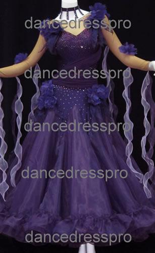 画像1: 社交ダンス モダンドレス2182タイプ (1)