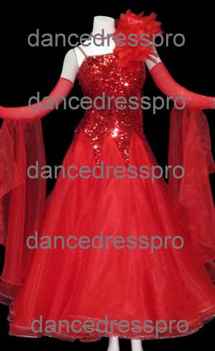 画像1: 社交ダンス モダンドレス2243タイプ (1)
