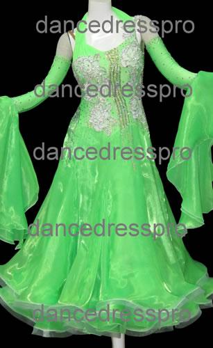 画像1: 社交ダンス モダンドレス2246タイプ (1)