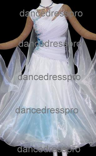 画像1: 社交ダンス モダンドレス2265タイプ (1)