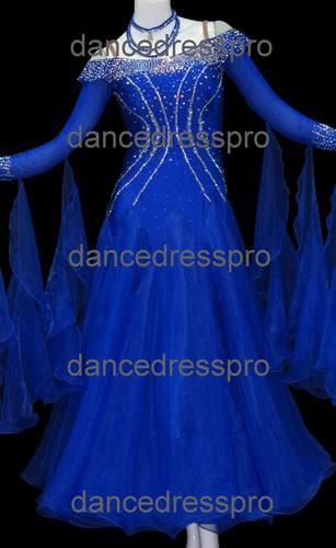 画像1: 社交ダンス モダンドレス2273タイプ (1)