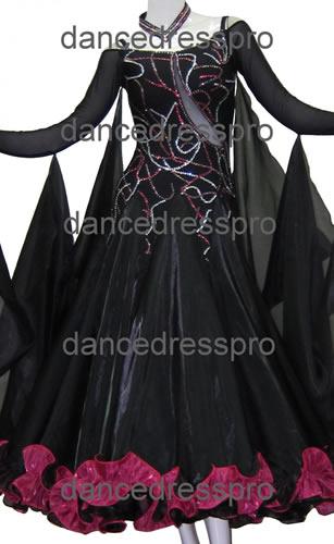 画像1: 社交ダンス モダンドレス2298タイプ (1)