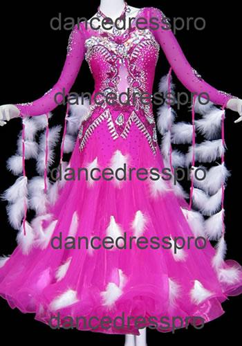 画像1: 社交ダンス モダンドレス2611タイプ (1)