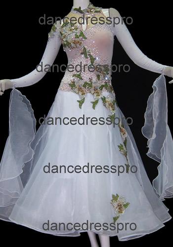 画像1: 社交ダンス モダンドレス2684タイプ (1)