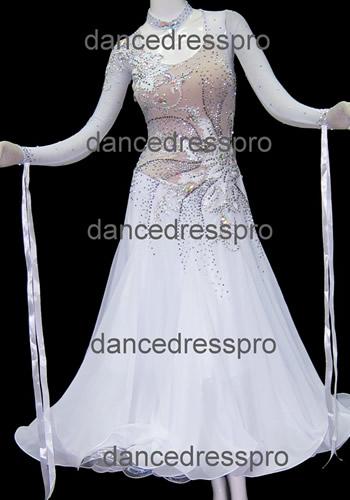 画像1: 社交ダンス モダンドレス2771タイプ (1)