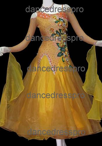 画像1: モダンドレスMサイズ ドレス丈約124cm (1)