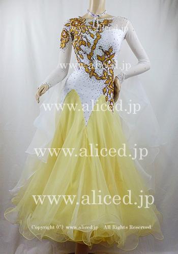 画像1: 社交ダンス モダンドレス2909タイプ (1)