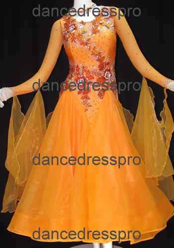 画像1: 社交ダンス モダンドレス2926タイプ (1)