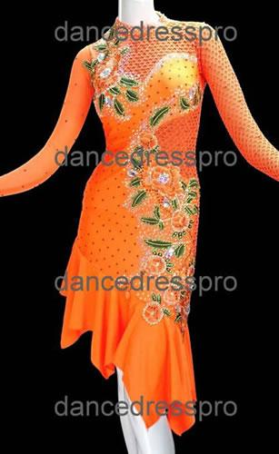 画像1: 社交ダンス ラテンドレス2938タイプ (1)