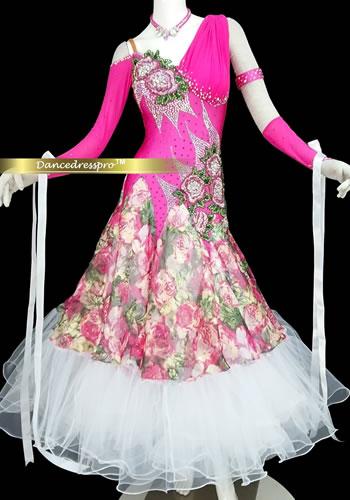 画像1: モダンドレスMサイズ ドレス丈約127cm (1)
